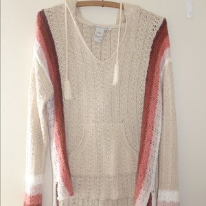 American Rag knit hood sweater